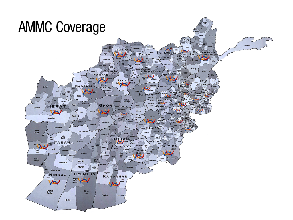 AMMC Coverage Map